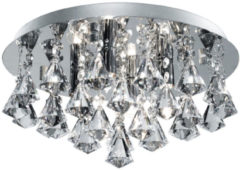 Transparante Home24 Plafondlamp Hanna IV, searchlight