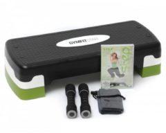 Step-fitness-set (stepboard + Soft-hanteln + Mini-handtuch + Dvd) Gymfitstar Green