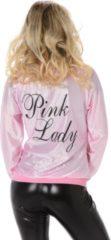 Roze Karnival Costumes Karnival Kostumes Verkleedkleding Stoer Pink Lady jasje Sandy - S
