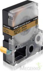 Epson Metallic Tape - LC4KBM9 Metallic Blk/Gold 12/9