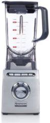 Zilveren Espressions EP9800 Blender voor op aanrecht 2l 2000W Zwart, Roestvrijstaal blender
