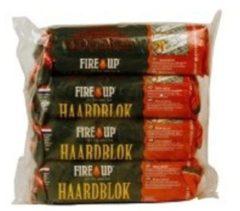 Fire-Up paraffine haardblok (tasje 4 st a 1 kg)