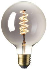 Calex globelamp LED Flex filament titanium 4W (vervangt 10W) grote fitting E27 125mm