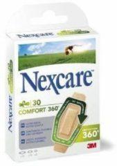 3M pleister Nexcare Comfort 360° 3 formaten, blister van 30 stuks