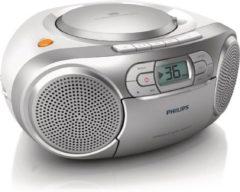 Zilveren Philips AZ127 - Radio/Cd-speler - Grijs