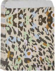 Pippashop 50 stuks papieren cadeauzakjes luipaardprint 16.3 x 13 cm
