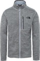 Grijze The North Face Canyonlands Full Zip Outdoorvest Heren - TNF Medium Grey Heather
