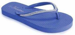 Blauwe Trentino slippers tieners Laveno Cobalt Maat: 40