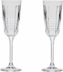 Transparante Cristal d'Arques Christal d'Arques - Rendez Vous Flute 17 Cl Set/2
