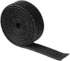 Hama 00020543 Klittenband kabelbinder Nylon Zwart flexibel (l x b) 1000 mm x 19 mm 1 stuk(s)