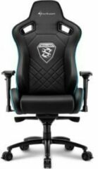 Blauwe Sharkoon Skiller SGS4 Gaming Seat bk/bu