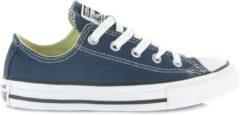 Converse Meisjes Sneakers Chuck Taylor All Star Ox Kids - Blauw - Maat 35