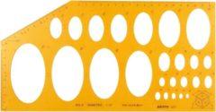 Isometrisch ellips sjabloon Aristo AR-5017