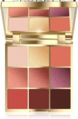 Roze Eveline Cosmetics Eyeshadow Palette 9 Colors Sparkle