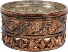 Bruine Baroque Collectie Theelichthouder 6 cm