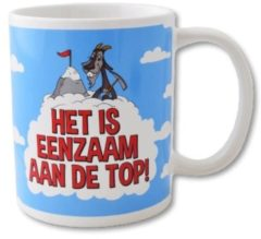 Paperdreams Funny Mugs 06- eenzaam aan de top