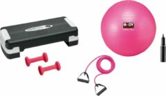 Aerobic Body Sculpture Gym Set Bb-5510 Step + Gym Ball + Dumbbell + Body Trimmer