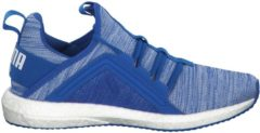 Laufschuhe Mega NRGY Heather Knit Jr mit innovativer Softfoam-Technologie Puma Strong Blue-Puma White