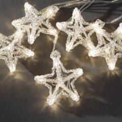 Konstsmide Lichtgordijn sterren Warmwit Buiten 24 V 60 LED (b x h) 900 cm x 13 cm