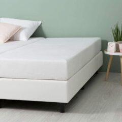Fresh & Co Comfort Stretch Molton Hoeslaken - Wit
