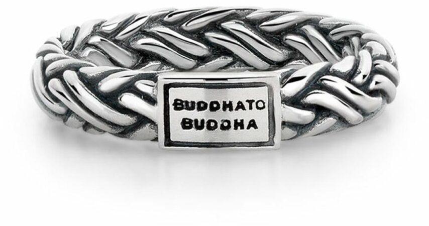 Afbeelding van Buddha to Buddha ring Katja XS Maat 15 zilver 605
