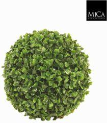 Plant New Day Kunstplant Buxus bol Groen - D 40cm - UV resistant - Mica Decorations