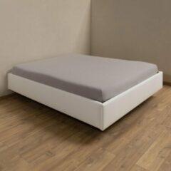 Dorsoo Hoeslaken Jersey Middengrijs - B 180-200 x L 200-220 cm