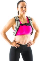 Grijze Gymstick Verstelbaar Gewichtsvest - 2,5 kg - Met Online Trainingsvideo's