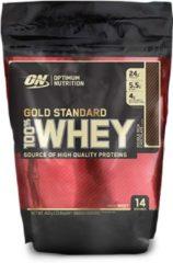 Optimum Nutrition 100% Whey - Eiwitpoeder / Eiwitshake - 450 gram - Chocolade