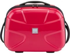 Rosa TITAN® Beautycase mit Flash Oberfläche, »Germany`s Next Topmodel X2, fresh pink«