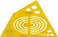 Aristo Tekensjabloon axonograph
