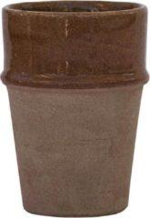 Beige Household Hardware Mokken - 'clay beldi' - handgemaakt - set van twee