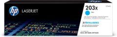 Blauwe HP Originele 203X CF541X high-capacity cyaan LaserJet tonercartridge