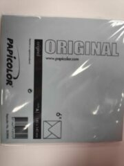 Papicolor Original Envelop Azuurblauw 6 stuks 140 x 140 mm