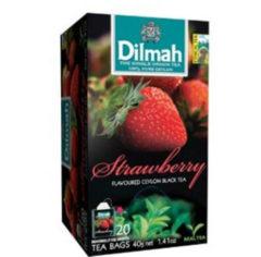 Dilmah Aardbei vruchtenthee 20 Stuks