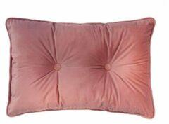 Roze Tiseco Home Studio Sierkussen 2 Knopen - Koraal