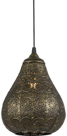 Afbeelding van Bronze TRIO, Hanglamp, Jasmin 1xE14, max.40,0 W Armatuur: Metaal, Brons Ø:19,0cm, H:150,0cm