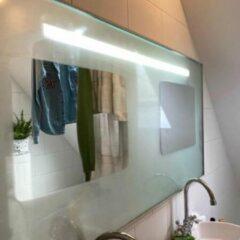 Witte Glasdiscount Universele Spiegelverwarming 40 x 40 cm 40 watt - Condensvrije Spiegel - Badkamer Spiegelverwarming