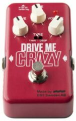 EBS Drive Me Crazy high gain distortion effectpedaal