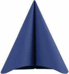 Creotime Servetten, donkerblauw, afm 40x40 cm, 60 gr, 20stuks