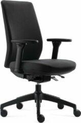 BenS 918-Synchro-4 zwart Luxe ergonomische bureaustoel Arbo Stoffen bekleding Volledig instelbaar