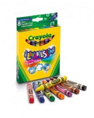 """Crayola Maxi Pastelli a Cera """"I Lavabilissimi"""" da 8 pezzi"""
