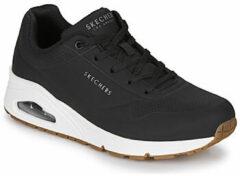 Zwarte Lage Sneakers Skechers UNO STAND ON AIR