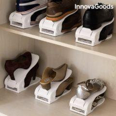 InnovaGoods Schoenrek, Verstelbare Schoengleuven - 6 Paar