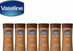 Vaseline Body Lotion Cocoa - 6 x 400 ML Voordeelverpakking