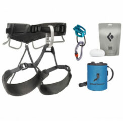 Black Diamond - Momentum 4S Harness Package - Klimset maat XS/S, grijs/zwart