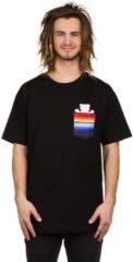 Grizzly Baja Bear Pocket T-Shirt