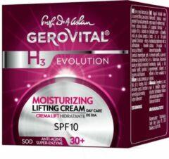 Gerovital Moisturizing Lifting Dagcreme met Hyaluronzuur SPF 10-(30+)