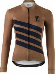 AGU Classic Fietsshirt Lange Mouwen Six6 Dames - Bruin - S