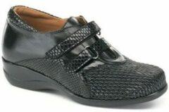 Zwarte Nette schoenen Calzamedi S DRAGON TEXTURE DOBLE
